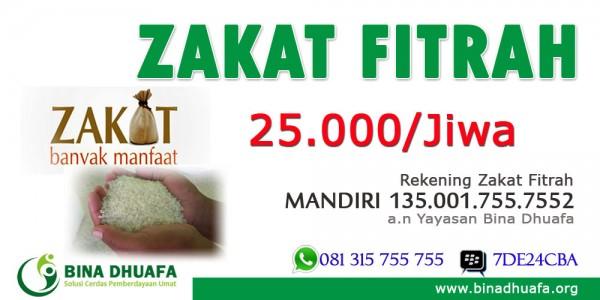 Layanan Bayar Zakat Fitrah