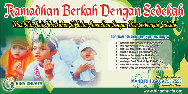 Panen Pahala Bersama Ramadhan