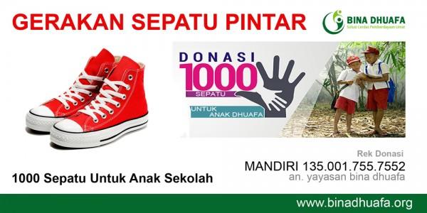 Gerakan 1000 Sepatu Pintar
