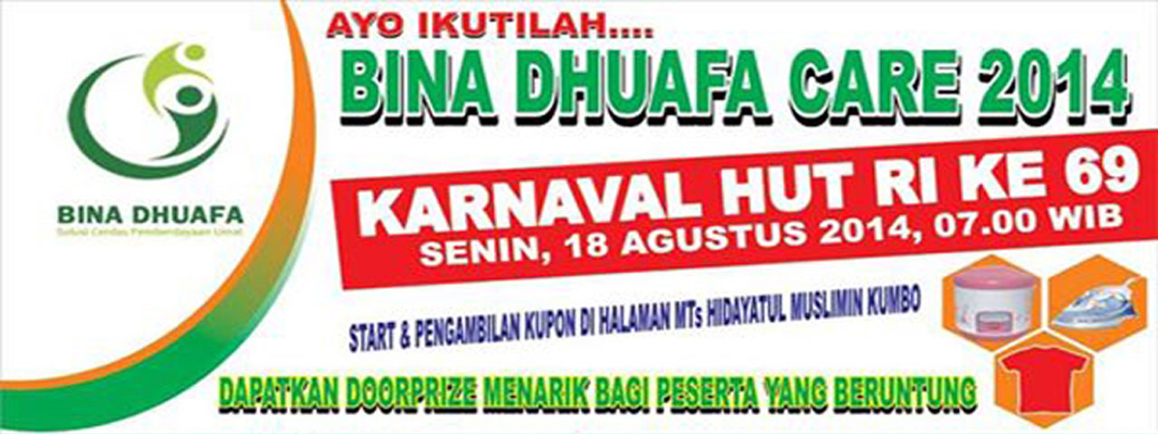 Bina Dhuafa Care 2014